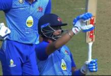 prithvi shaw half century for mumbai scored 63 against assam