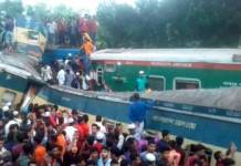 At least 15 killed in train accident Bangladesh