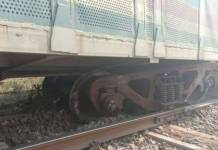 Car-laden goods train derailment derails in Shahjahanpur
