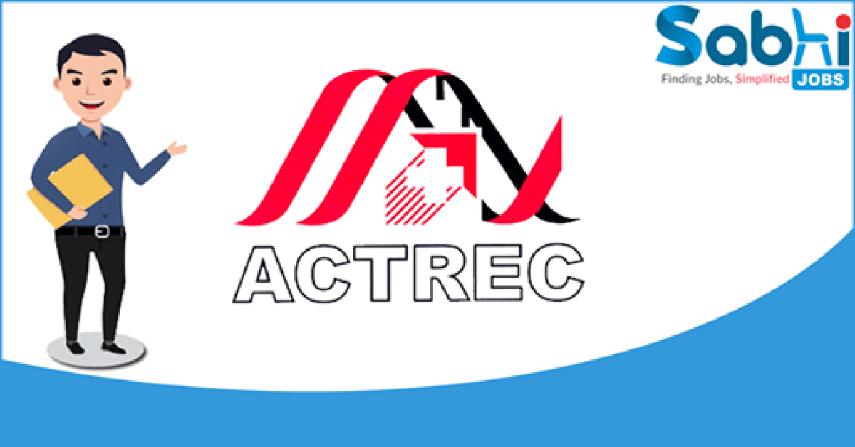 ACTREC recruitment 2018 notification Apply for Scientific Assistant