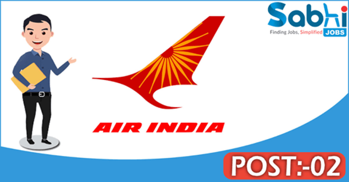 Air India recruitment 2018 notification Apply for 02 Pharmacist