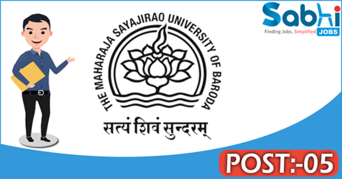 MSU Baroda recruitment 2018 notification 05 Project Fellow