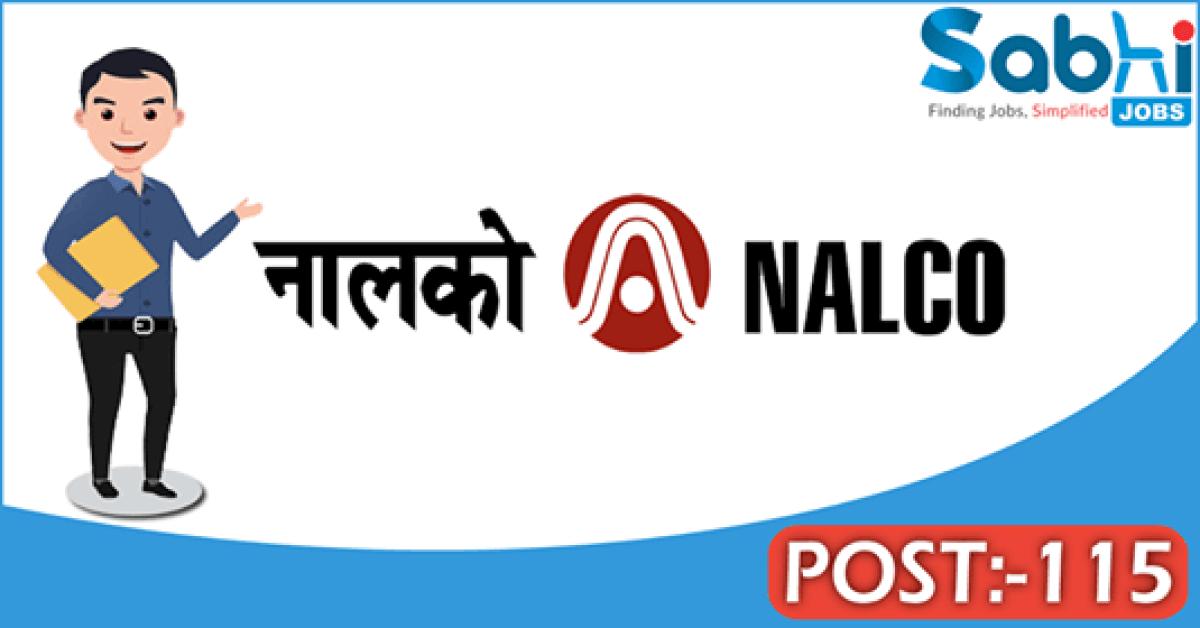 NALCO recruitment 115 Graduate Engineer Trainee