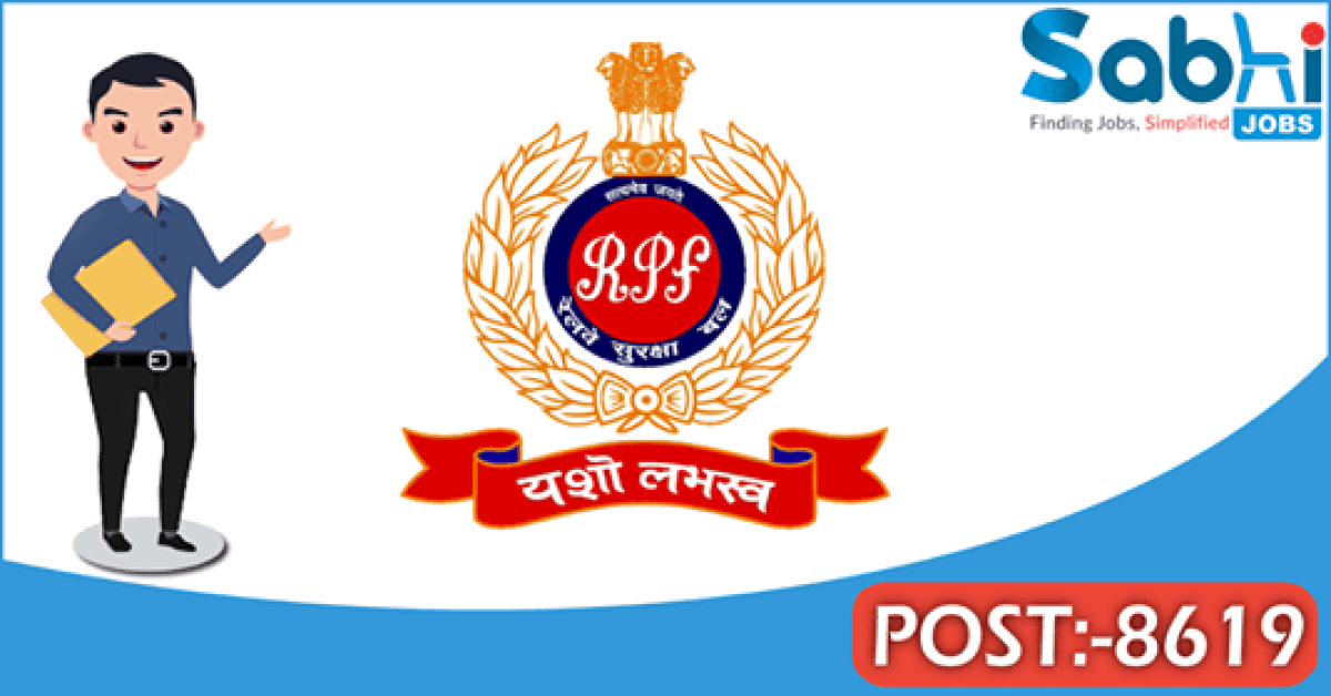 RPF recruitment 8619 Constable