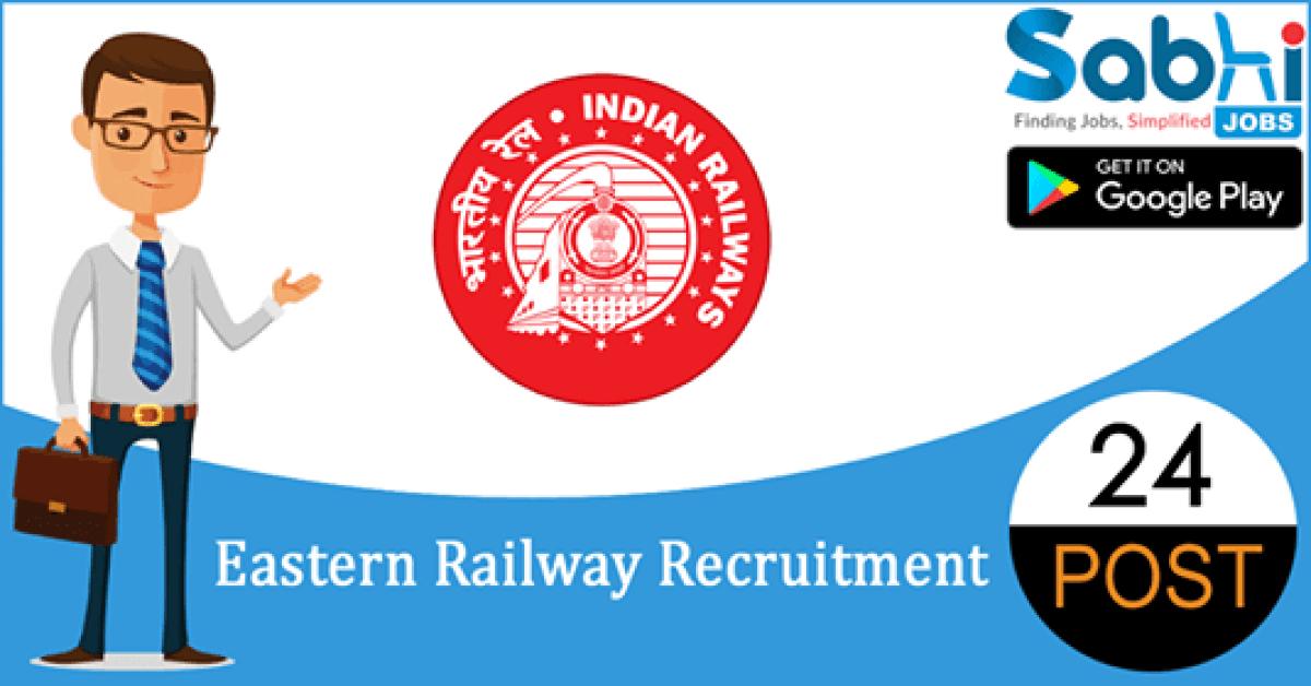 Eastern Railway recruitment 24 Nursing Cadre, Lab Technician