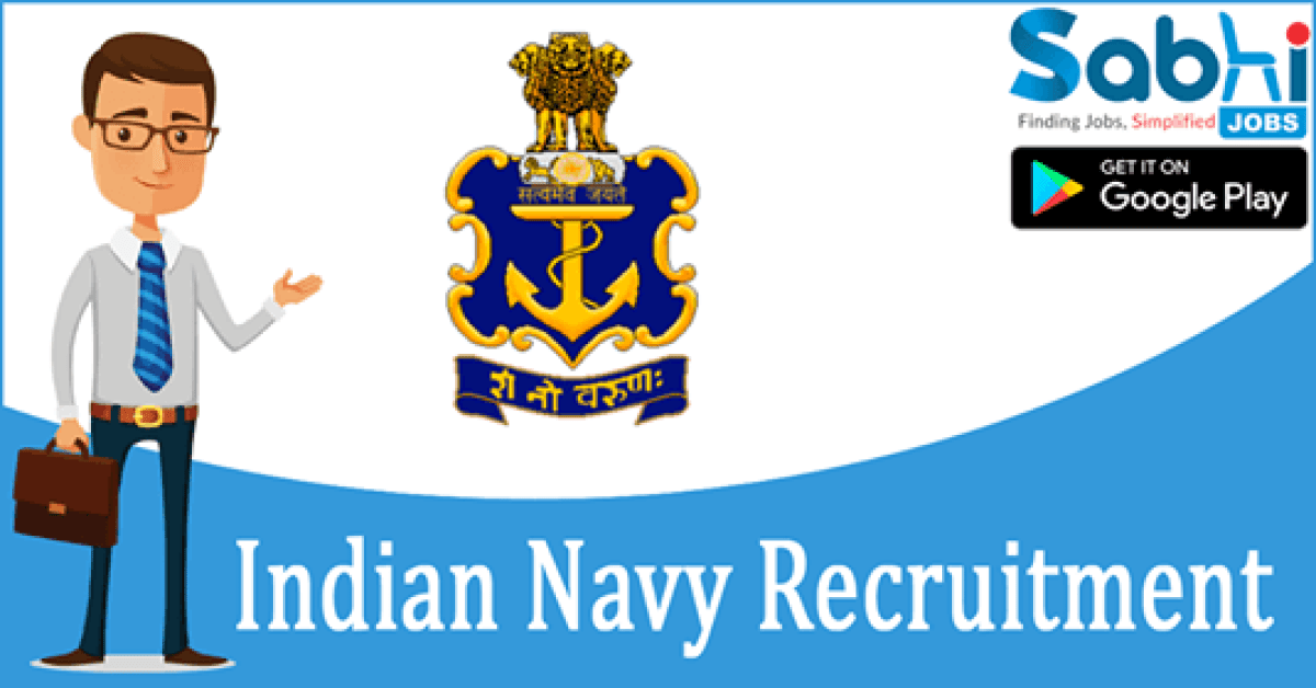Indian Navy recruitment Chef/Steward/Hygienist for MR April 2019 Batch