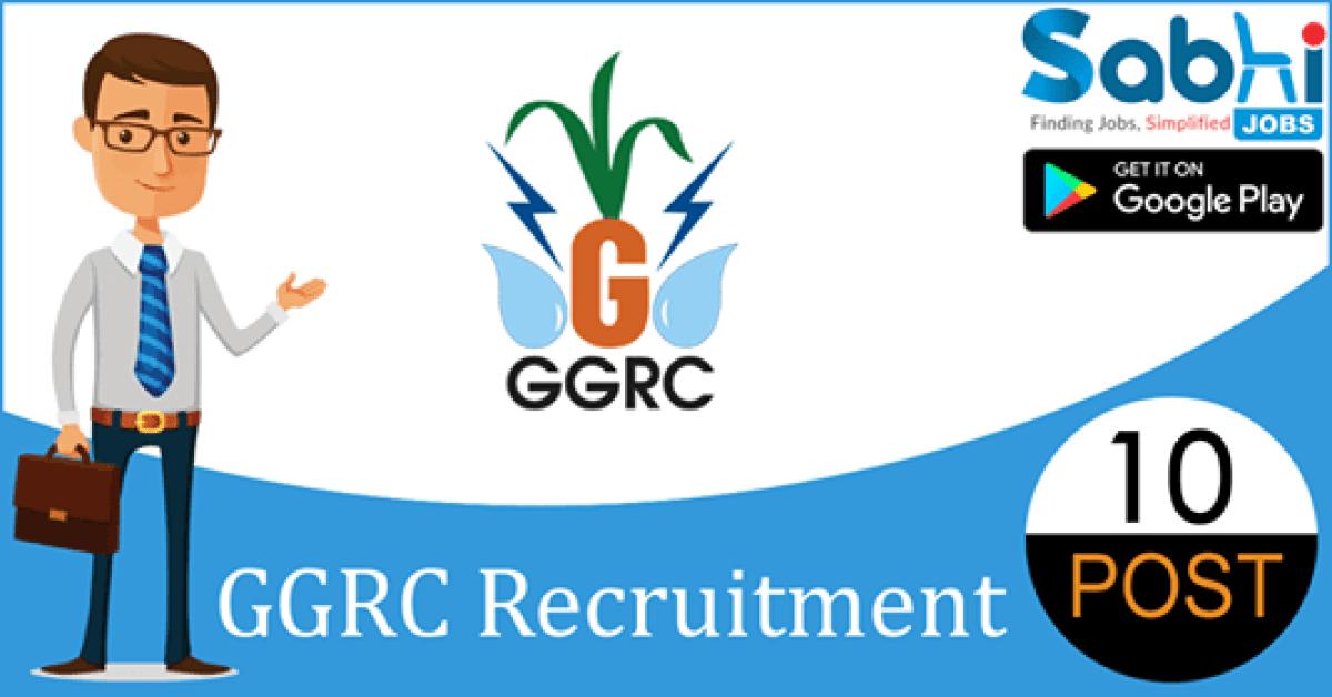 GGRC recruitment 10 Junior Officer, Software Engineer