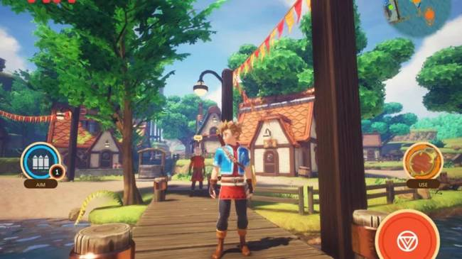 Oceanhorn 2 Knights of the Lost Realm Gaming ipad Game Apple Arcade Subscription