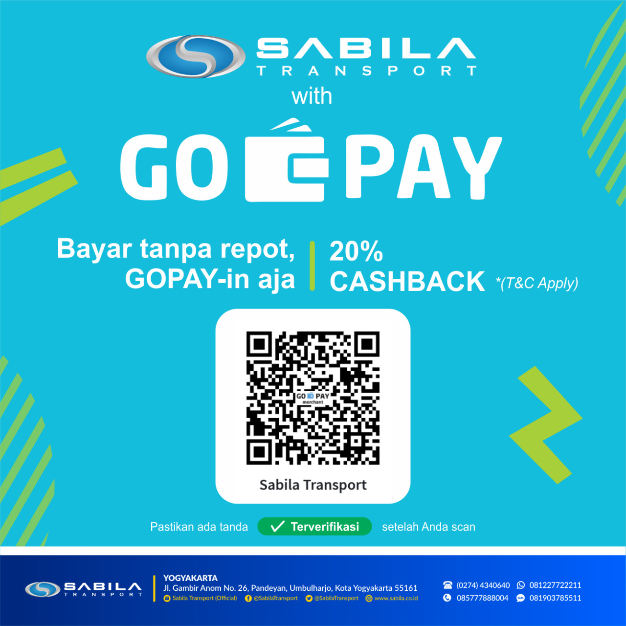 Cashback 20K Go-Pay