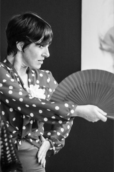 Unterricht - Flamenca mit Fächer