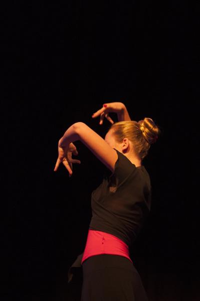 Junge Flamenca