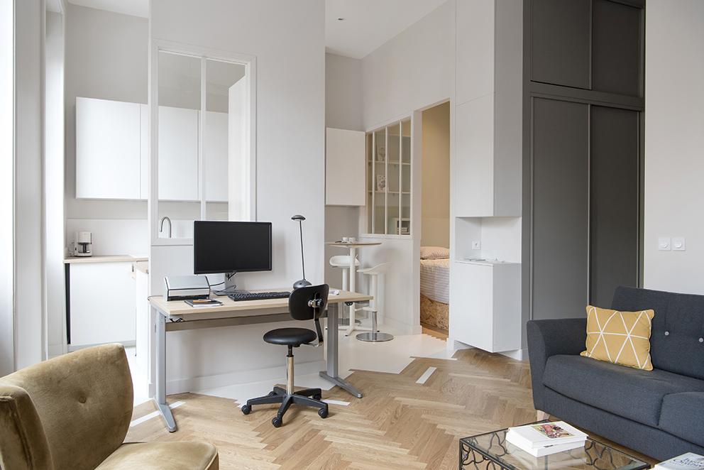 Lyon/ Bureaux / Architecture intérieure Marion Lanoë