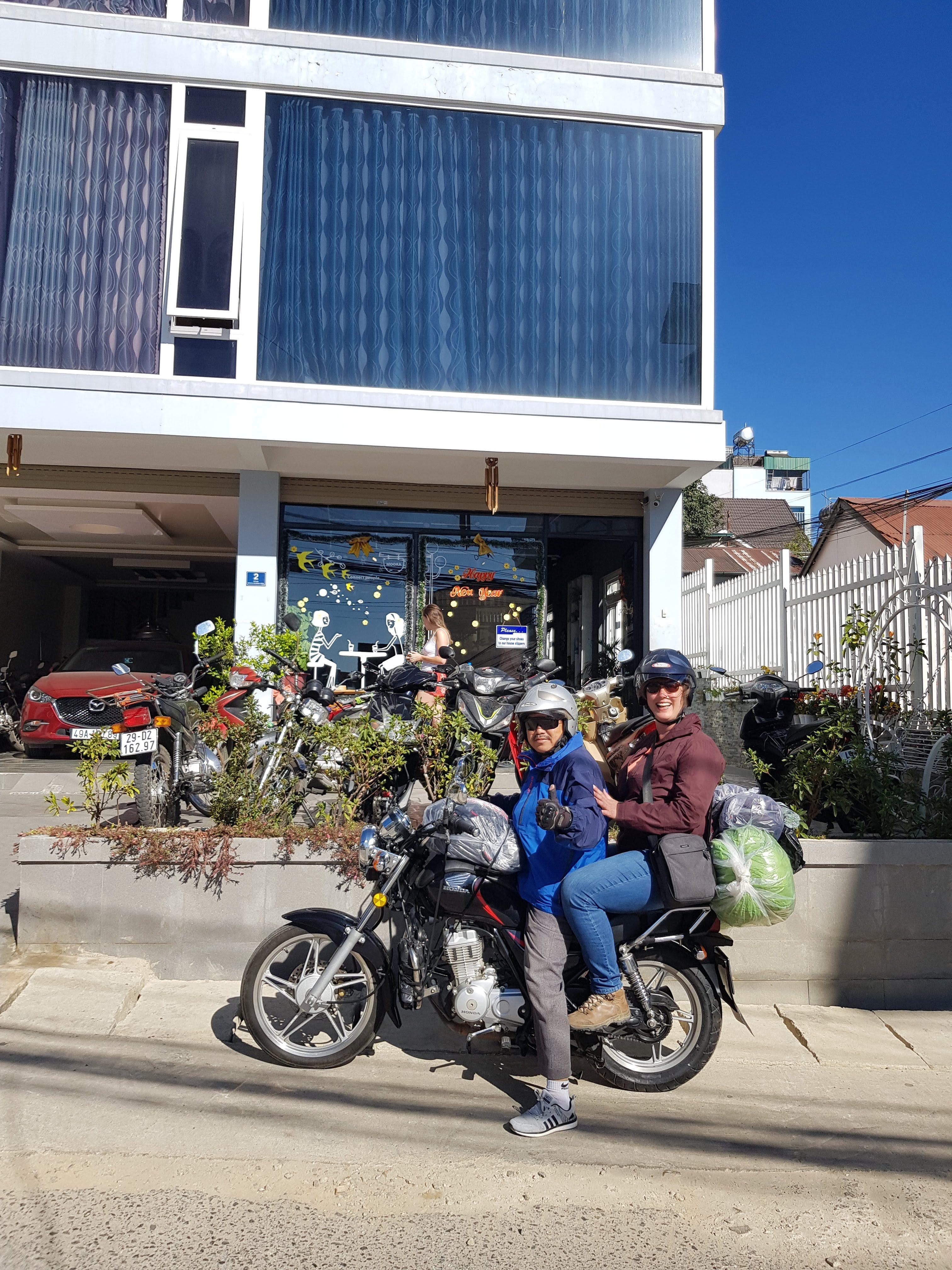 motor ride in dalat vietnam