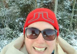 big smile en zonnebril