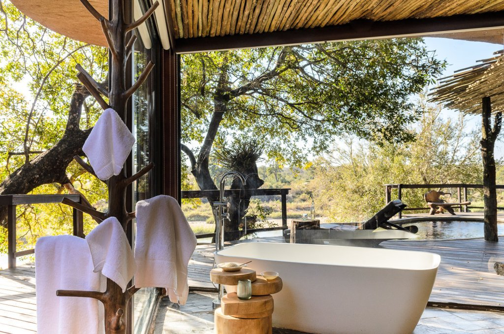 Singita Boulders Lodge bath