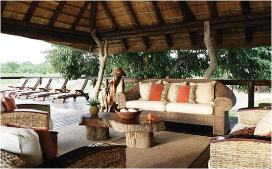 Arathusa Safari Lodge Lounge