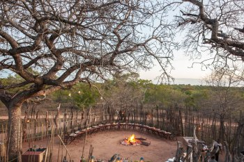 Cheetah Plains Lodge Boma Overviewing