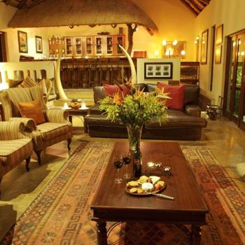 Elephant Plains Game Lodge Bar Area