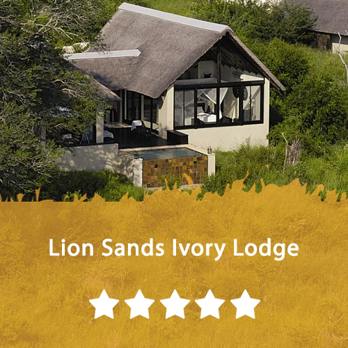 Lion Sands Ivory Lodge Featured Image