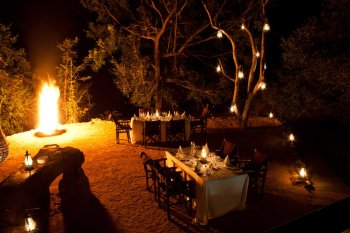 Little Bush Camp Dining