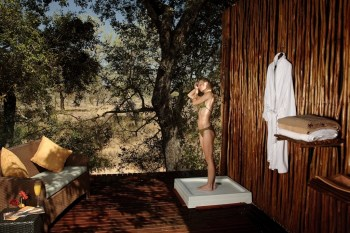Simbambili Game Lodge Spa Shower