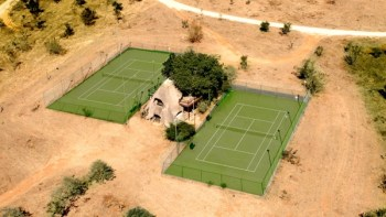 Ulusaba Safari Lodge Tennis Courts