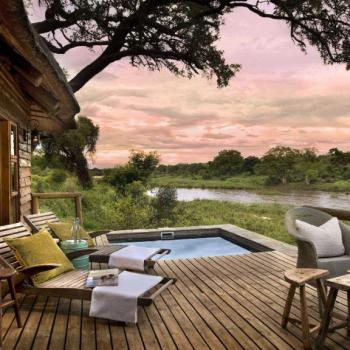 Lion Sands Game Reserve Honeymoon Accommodation Deck
