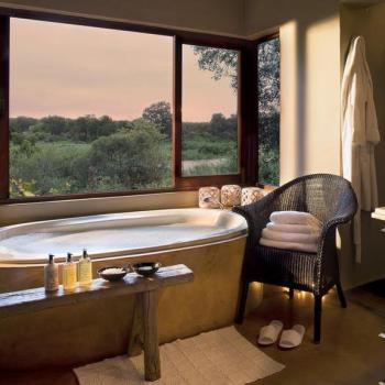 Lion Sands Tinga Lodge Accommodation Bathroom