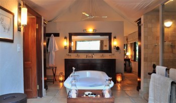 Savanna Private Game Lodge Luxury Suite Bathroom