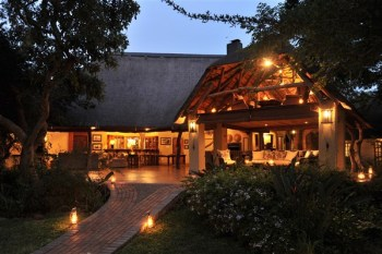Savanna Private Game Lodge Main Lodge Exterior
