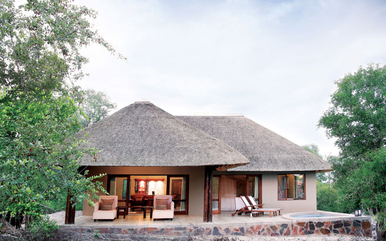 Arathusa Safari Lodge Luxury Room Exterior