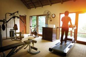 Leopard Hills Private Game Reserve Gym