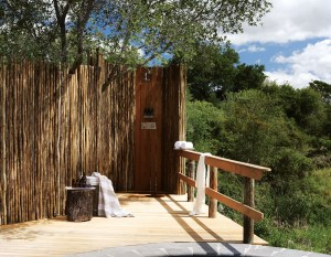 Londolozi Founders Camp Outside Shower