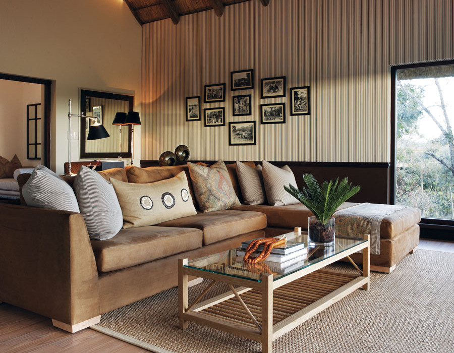 Londolozi Pioneer Camp Suite Lounge