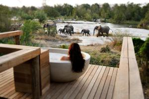 Londolozi Private Granite Suites Suite Deck View