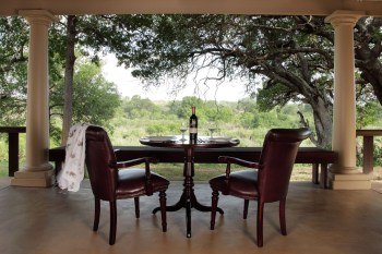 MalaMala Rattray's Suite Outdoor Dining