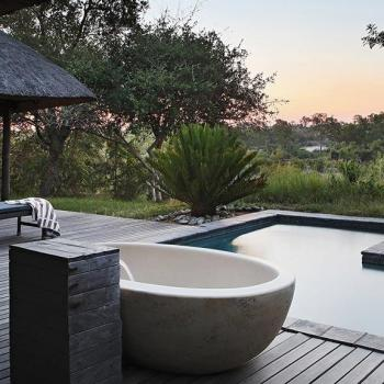 Londolozi Private Granite Suites Accommodation Pool Area