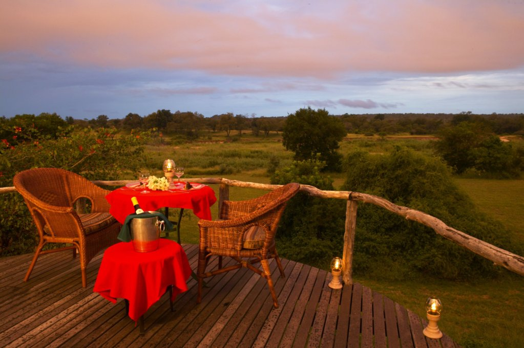 MalaMala Main Camp Romantic Dining