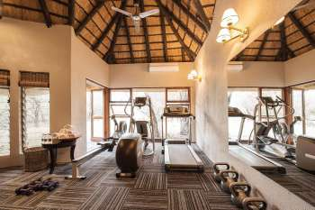 Dulini Lodge Gyming Room