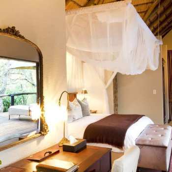 Dulini Lodge Luxurious and Spacious Bedroom
