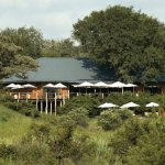 Mala Mala Game Reserve Sable Camp Camp Exterior View