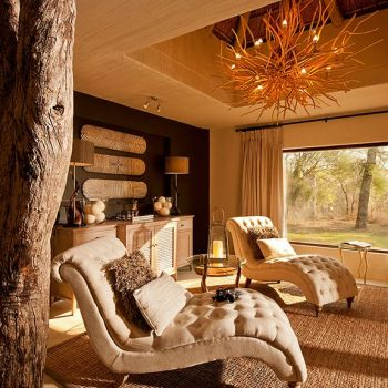 Sabi Sabi Bush Lodge Living Room