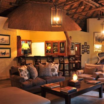 Savanna Private Game Lodge Luxury Lounge