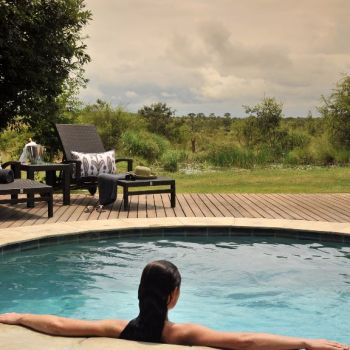 Savanna Private Game Lodge Open pool