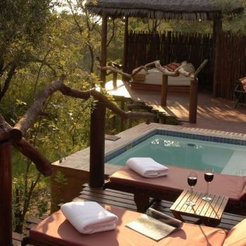 Simbambili Game Lodge Deck Pools