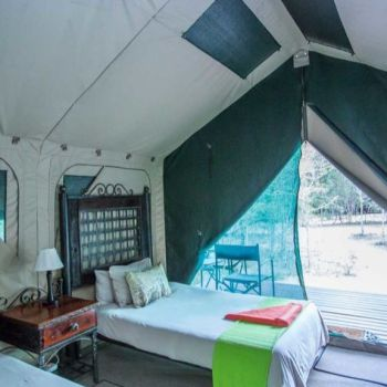 Tydon Bush Camp Tent Interior
