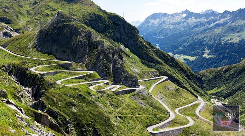 Gotthard-Pass,-Switzerland