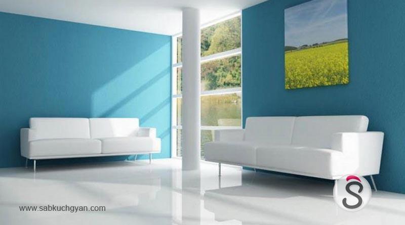 Modern-Interior-Wall-Paint-Blue-White-Designs-Ideas
