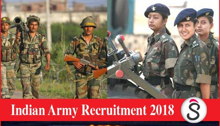 An opportunity to get jobs in the Indian Army for people passing Engineering