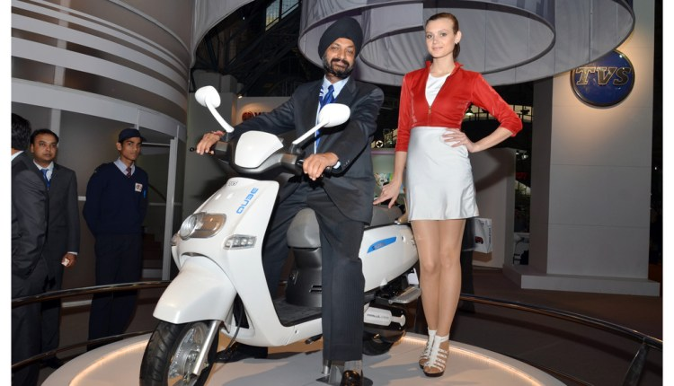 TVS prepares to launch its Hybrid Scooter ICB
